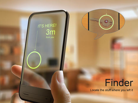 Finder – RFID Locator by Chu Wang, Qiujin Kou, Qian Yin & Yonghua Zhang » Yanko Design | All Technology Buzz | Scoop.it