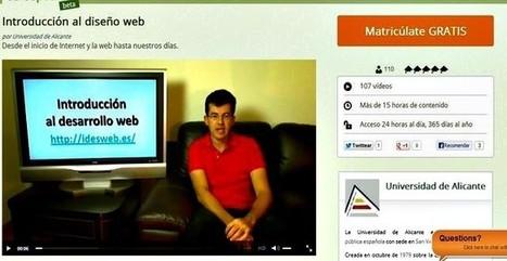 Un completo curso gratuito de introducción al diseño web desde cero | e-learning y aprendizaje para toda la vida | Scoop.it