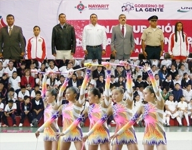 Inicia Olimpiada Estatal Nayarit 2013