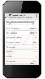 Istat.it - Censimento popolazione: la prima app dell'Istat | Big Data, crowdsourcing and strategy | Scoop.it
