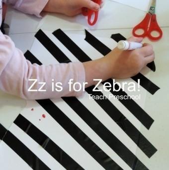 Zz is for a zany zebra | Teach Preschool | Scoop.it