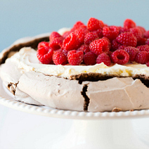 Chocolate Pavlova Recipe | Brown Eyed Baker | RECIPES WITH CHOCOLATE | Scoop.it