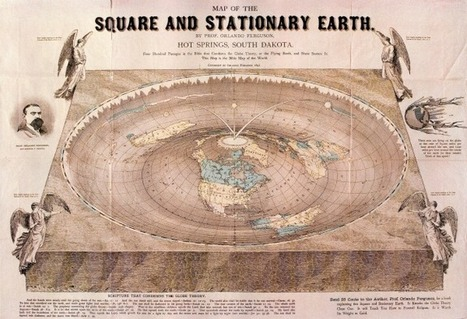 Ingenious 'Flat Earth' Theory Revealed In Old Map | LiveScience | GenealoNet | Scoop.it