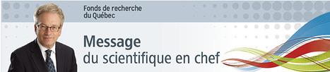 Message du scientifique en chef du Québec 10e   La recherche dans les cégeps   Scoop.it
