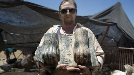 Unique Egyptian sphinx unearthed in north Israel | Newsworthy Notes - Archaeological Discoveries | Scoop.it