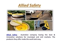 The Best of Sewer Manhole Services from Allied Safety | Sewer Manhole in Australia | Scoop.it