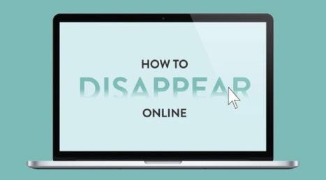 Cómo desaparecer de Internet [Infografías] - arturogoga   Educacion, ecologia y TIC   Scoop.it