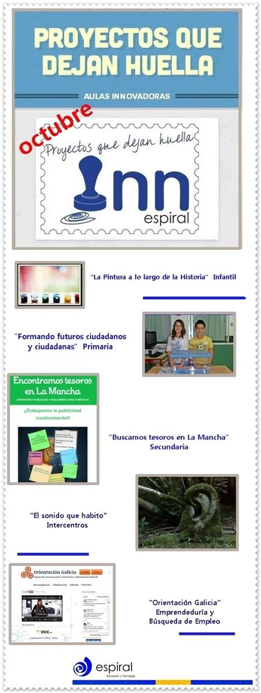 Proyectos que dejan Huella. Octubre 2013   Aulas Innovadoras Espiral   Experiencias didácTICas en el aula   Scoop.it