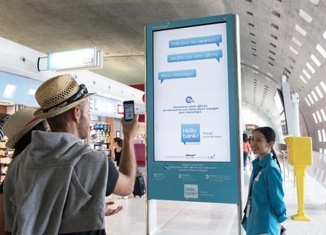 » France : Avec Hello bank! et JCDecaux Airport Paris, shazamez pour obtenir des bons plans sur vos destinations Vacances   Affichage dynamique et PLV   Scoop.it