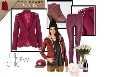 StyleCard Stylist: The Colour Pop – Burgundy   StyleCard Fashion Portal   StyleCard Fashion   Scoop.it