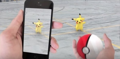 Beyond Pokémon Go: Augmented Reality Applications in Healthcare | Medical Device & Diagnostic Industry News Products & Suppliers | Business Transformation | Scoop.it