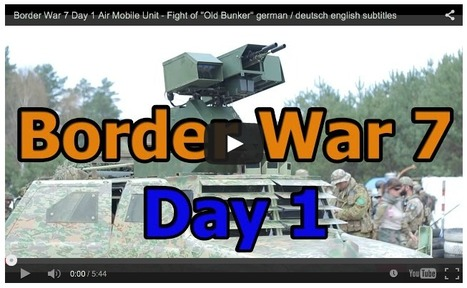 """Border War 7 Day 1 Air Mobile Unit - Fight of """"Old Bunker"""" - GsP Airsoft 