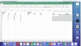 Computing in Northamptonshire: Teaching Basics of Neural Networks with Spreadsheets | random computing | Scoop.it