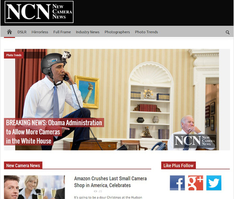 Fake News Site 'New Camera News' Brings The Onion's Satiric Style to Photography | Huge savings with amazon and 4inkjets coupon codes | Scoop.it