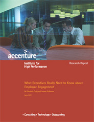 Employee Engagement Study - Accenture | Innovative approaches to Leadership and Management | Scoop.it