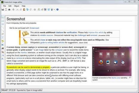 Greenshot: el mejor software de captura de pantalla para Windows | Curiosidades | Scoop.it