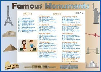 Famous monuments | Tools for  Teaching | Scoop.it