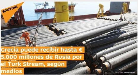 MERKEL... JÓDETE ... Grecia a punto de firma acuerdo con Rusia de € 5.000 millones por el Turk Stream   La R-Evolución de ARMAK   Scoop.it