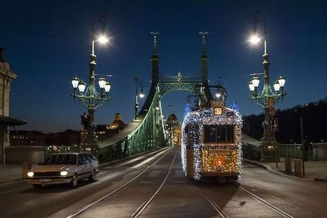Twinkling LED Lights Make Budapest Tram Look Like it's Traveling Through Time | ART  | Conceptual Photography & Fine Art | Scoop.it