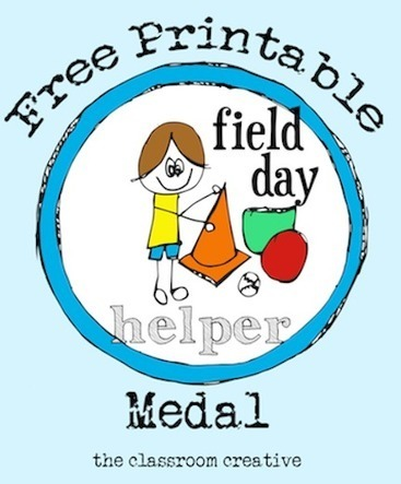 Free Printable Field Day Helper Medal - The Classroom Creative | Technology in Art And Education | Scoop.it
