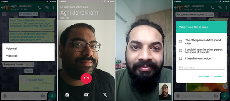 WhatsApp can now make video calls on Android | MarketingHits | Scoop.it