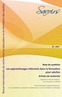 Revue Savoirs 2013/2, Les apprentissages informels | Parents Enfants | Scoop.it