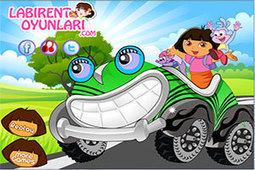 Dora neşeli yarış arabası | oyunlar,oyun oyna,bedava oyunlar,labirent oyunları | Scoop.it