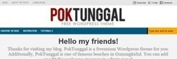 PokTunggal - Freemium Wordpress Theme | Inspiring Creative Design | Scoop.it