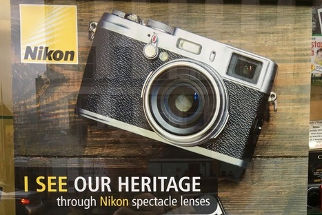 Nikon brags about its rich heritage using Fujifilm camera | Digital Photography - Fuji X-E1 (X-E2 and okay now I'm up to the X-T1!) | Scoop.it