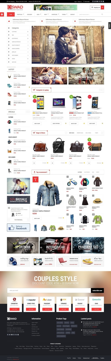 Wordpress themes for ecommerce websites | SEO | Scoop.it