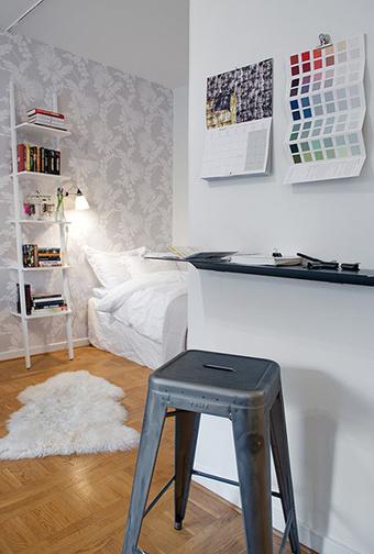 Bố trí căn hộ 38 m2 của một nghệ sĩ | Tạo dựng không gian đẹp | Scoop.it