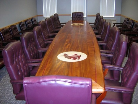 Custom Solid Wood Conference Tables   Specialty Woods   Scoop.it