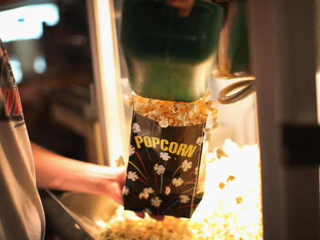 Eating popcorn at the movies could make advertisements less effective - CBS News | Photography | Scoop.it