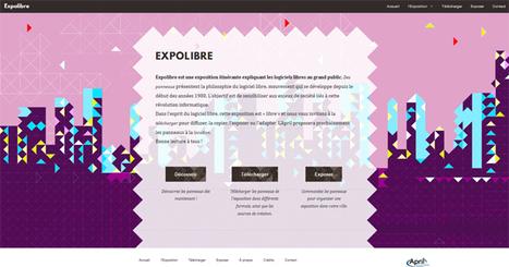 Expolibre : cette exposition (logiciels libres) est « libre » et nous vous invitons à la télécharger pour diffuser, la copier, l'exposer ou l'adapter | CaféAnimé | Scoop.it