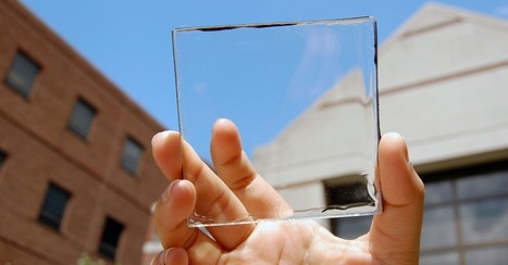 Next-Gen Solar Panels Are Nearly Invisible to the Naked Eye | Communication design | Scoop.it