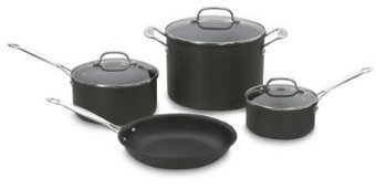 Cuisinart 66-7 Chefs Classic Nonstick Hard-anodized 7-piece Cookware Set from Cuisinart at the Buy & Save Store | theeway reviews | Scoop.it