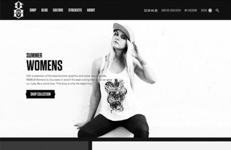 5 sites e-commerce pour votre inspiration – #18 - WebdesignerTrends | MyTopic | Scoop.it