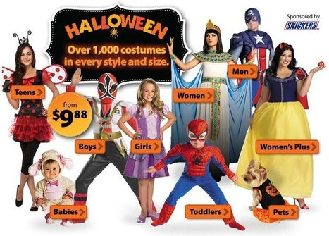 Halloween Costumes, Decorations and Candy for Less - Walmart.com | Halloween & Spooky Fun Stuff~ | Scoop.it