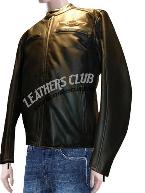 Harley-Davidson Mens 'Birler' Leather Motorcycle Jacket   Men's Leather Jackets   Scoop.it