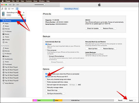 How To Sync Your iPhone With iTunes Wirelessly Over Wi-Fi | iPhone and iPad How-tos | Scoop.it
