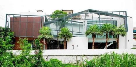 Maison urbaine thaïlandaise qui concilie vie privée et luminosité | Construire Tendance | Scoop.it