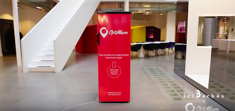 OptiMiam installe un frigo en libre accès pour lutter contre le gaspillage alimentaire | Attitude BIO | Scoop.it