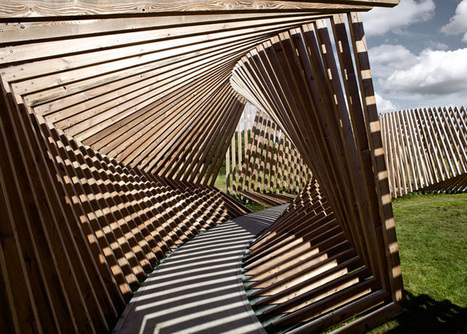 Exploring A NEW Perception of Space at EKKO installation, Denmark | The Architecture of the City | Scoop.it