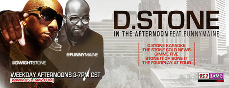GetAtMe-DjPleasePickUpYourPhone-DwightStone Ft Funnymaine-3PM-7PM @95.7Jamz Birmingham Ala. | GetAtMe | Scoop.it