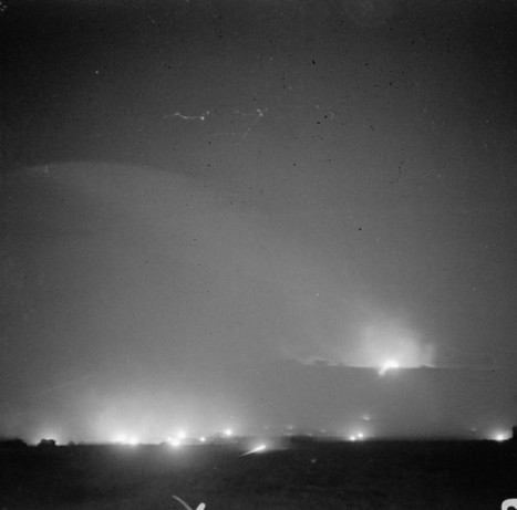 23rd October 1942: The British Guns open up at El Alamein | History Around the Net | Scoop.it