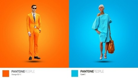 Pantone People, un proyecto que une la ropa que viste la gente con los colores Pantone | El Mundo del Diseño Gráfico | Scoop.it