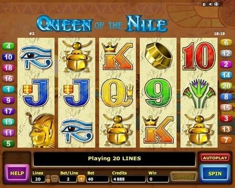 New Queen Of The Nile slot online | Online Slots | Scoop.it