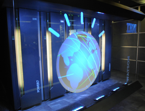 One Per Cent: Watson, the supercomputer genius, heads for the cloud | Intelligent systems | Scoop.it