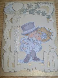 Blankina creations: Monochrome wedding card Don & Daisy ... | Go Wedding | Scoop.it