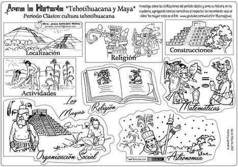 Armo la historia: Olmeca, Tehotihuacana, Maya, Tolteca y Mexica - Actiludis | Educacion, ecologia y TIC | Scoop.it